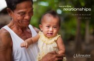 2012 Annual Review (pdf) - Lifewater International