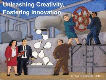 Unleashing Creativity, Fostering Innovation
