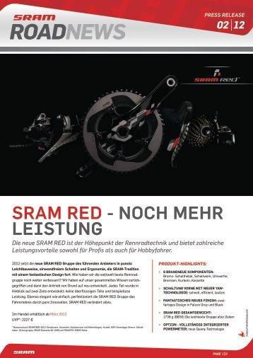 SRAM RED 2013
