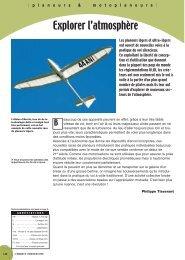 Explorer l'atmosphère - Flying-directory.com