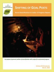 Shifting of goal posts: rural electrification in India - Christian Aid