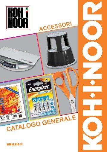 scarica il catalogo Accessori (PDF) - Koh-I-Noor