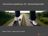 Samordnet prosjektering i 3D - Samordningsmodell - BA-Nettverket