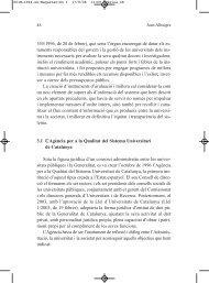 L'Agència per a la Qualitat del Sistema Universitari de ... - Jordi Pujol