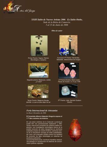 Artes del Fuego - ceramica y cristal
