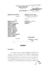 Crim Case/s 23608 - People vs. Fuentes, et al - Sandiganbayan