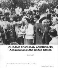 Cubans to Cuban Americans: Assimilation in the United States