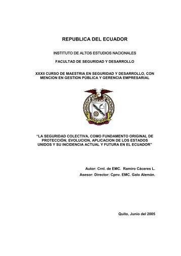 Tesis Ramiro Caceres.pdf - Repositorio Digital IAEN - Instituto de ...