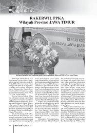 RAKERWIL PPKA Wilayah Provinsi JAWA TIMUR - Kemenag Jatim