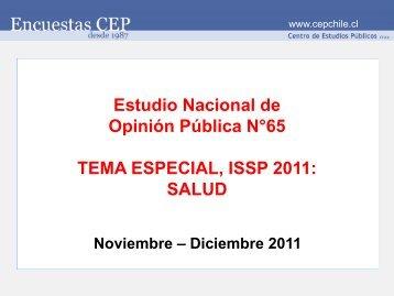 Tema especial - Centro de Estudios Públicos