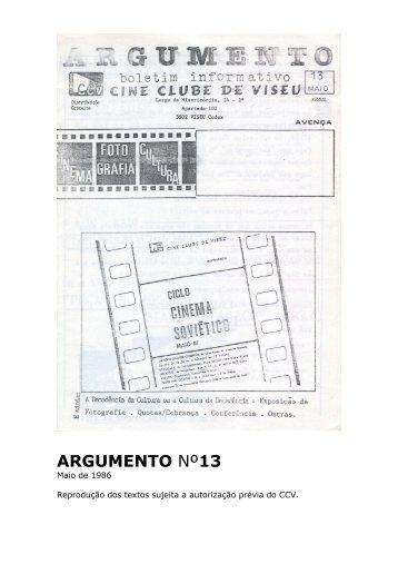 Argumento nº13 - Cine Clube de Viseu