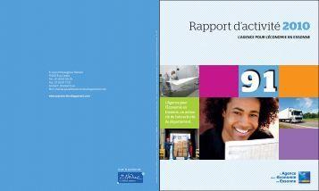 Rapport d'activité 2010 - Agence pour l'économie en Essonne