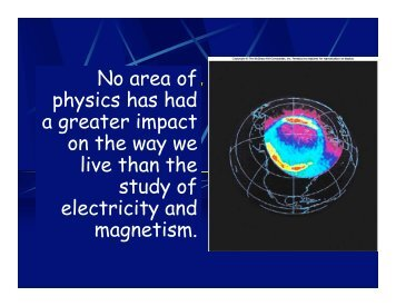 Chapter 12 Electrostatic Phenomena - Oswego