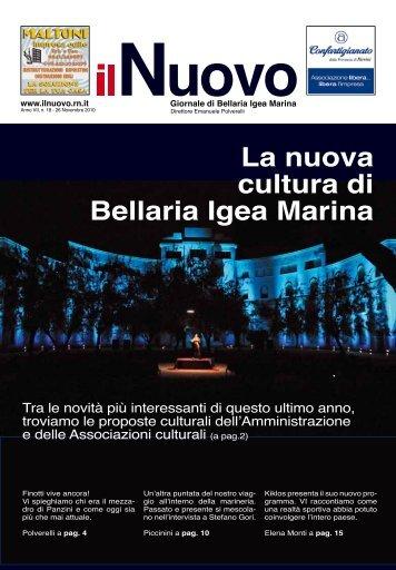 La nuova cultura di Bellaria Igea Marina - Il Nuovo