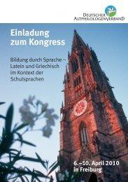 Bildung durch Sprache. Latein und Griechisch im ... - Ingvelde Scholz