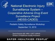National Electronic Injury Surveillance System - Cooperative ...