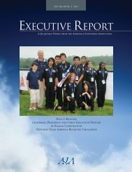 Second Quarter - Aerospace Industries Association
