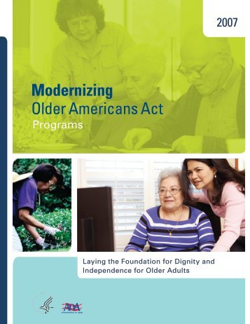 Download the 2007 Annual Report - Administration on Aging