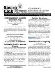 conservation program - Sierra Club – Ohio Chapter