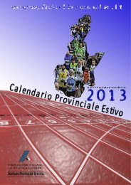 Calendario 2013 - Bresciachecorre.it