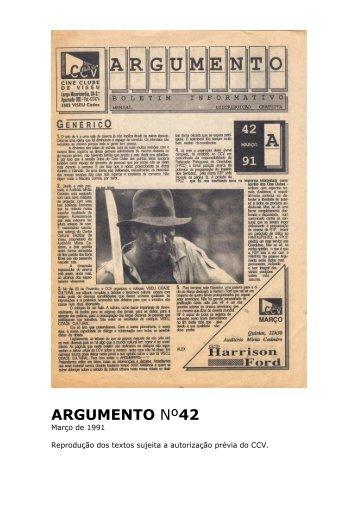 Argumento nº42 - Cine Clube de Viseu