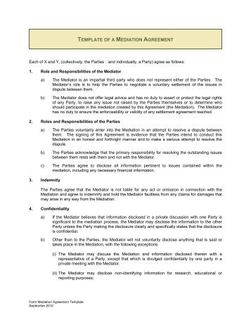 mediation confidentiality agreement file name - Barr Murman ...
