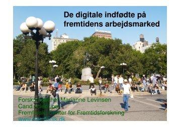 De digitale indfødte og arbejdsmarkedet