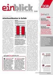 spezial - Einblick-archiv.dgb.de - DGB