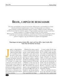 BRASIL, CAMPEÃO DE DESIGUALDADE - Adusp