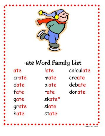 variations of the word family Some include: support love and caring for other family members providing security and a sense of belonging open communication making each person within the family feel important, valued, respected and esteemed.