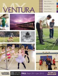 FALL Sept 2011-Jan 2012 - City Of Ventura