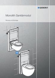 Monolith Sanitärmodul - Geberit