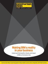 Making BIM a reality in your business - Construction News