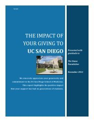 Donor Impact Reporting - CASE