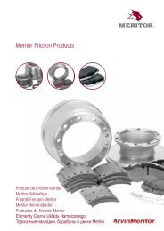 Meritor Friction Products