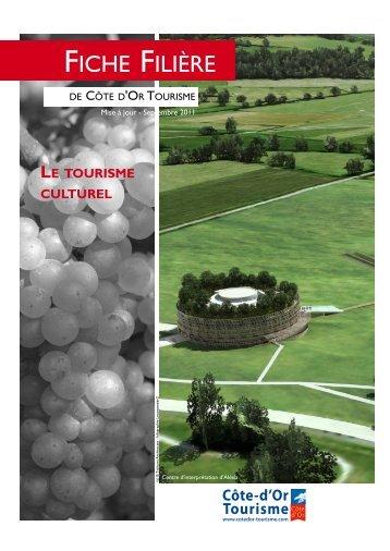 FICHE FILIèRE - Bourgogne Tourisme