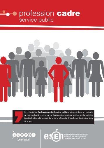 Profession cadre - Esen - Ministère de l'Éducation nationale