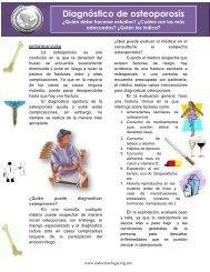 Diagnóstico de osteoporosis - Sociedad Mexicana de Nutricion y ...