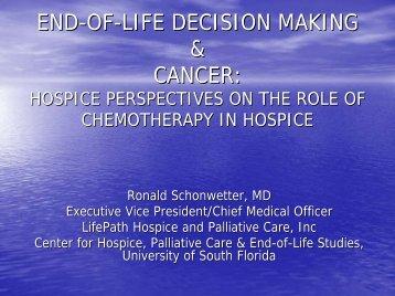 Schonwetter - USF Health Continuing Professional Development ...