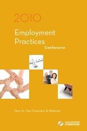 employment-practices-conference e brochure.pdf - BRGSLaw.Com