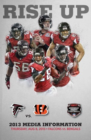 Falcons Weekly Release - Bengals Home
