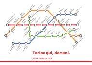 Torino qui, domani. - Torino Strategica