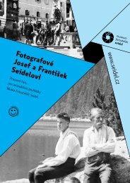 Fotografové Josef a František Seidelovi - Český Krumlov