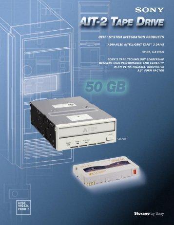 AIT-2 Data Sheet - Avax International
