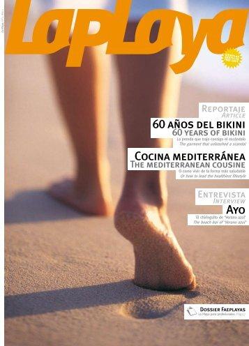 60 años del bikini Cocina mediterránea Ayo - Federación andaluza ...