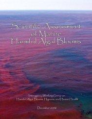 Scientific Assessment of Marine Harmful Algal Blooms - Center for ...