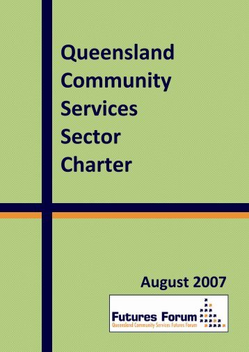 Queensland Community Services Sector Charter