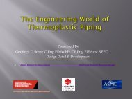 The Engineering World of Thermoplastic Piping - Warning: Large File