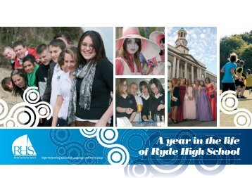 A year in the life of Ryde High School - British Council Schools Online