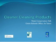 Cleaning Products - Green Schools Ireland